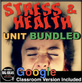 Psychology: Stress and Health Unit - PPTs, Worksheets, Assessment & Video (AP)