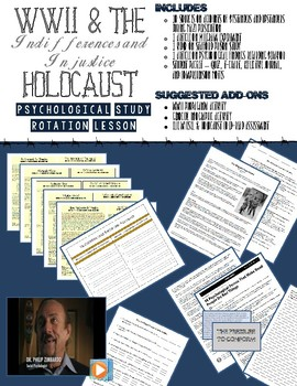 Psychology Study - Indifference, Injustice, and the Holocaust