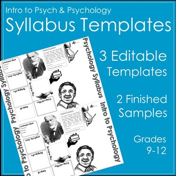 Psychology Syllabus Template