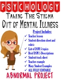 Psychology Taking Stigma Out of Mental Illness Project for