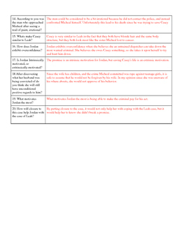 Psychology The Call Movie Guide for Social Psych unit with KEY