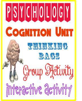 Psychology Thinking Bag Activity for Cognition Thinking Unit