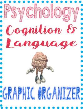 Psychology Thinking Cognition & Language Concept Graphic O