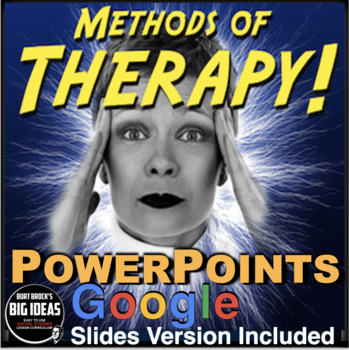 Psychology: Therapy PowerPoints with Video Links & Lecture Notes