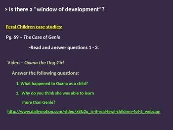 Psychology - Unit 2 Powerpoint (Nature/Nurture, Development, and Morals)