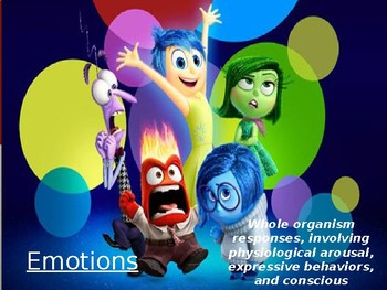 Psychology - Unit 5 - Emotions