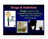 Psychology Unit: Drugs & Addiction Overview w/Critical Thinking PPT