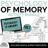 Psychology of Memory Bundle