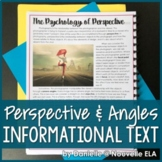 Psychology of Perspective (Informational Text) - Media Literacy Lesson
