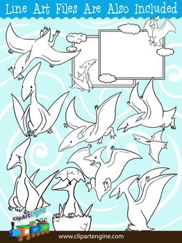 Pterodactyl Clip Art