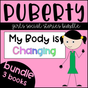 Puberty: Girls Book Bundle