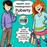 Puberty Health Lessons (Differentiated)