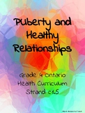 Puberty and Healthy Relationships - Ontario Grade 4 Health