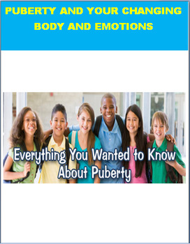 Puberty- lesson with generic and sensitive issue sections-activities