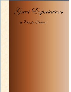 Public Domain Literature Great Expectations by Charles Dickens