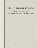 Public Domain Literature Red Badge of Courage by Stephen Crane