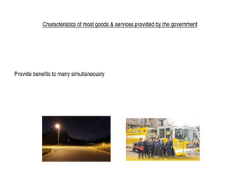 Public Goods & Services power point (CE.13b)