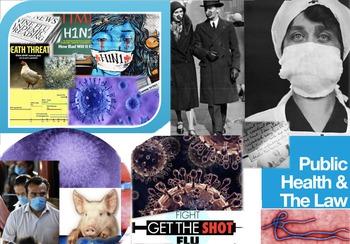 Public Health Law FREE POSTER 1918 Flu Ebola Swine Vaccines Quarantines