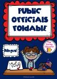 Public Officials Bilingual Foldable