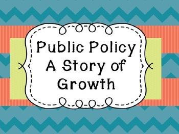 Michigan History: Public Policy Unit- Creating Student Presentations