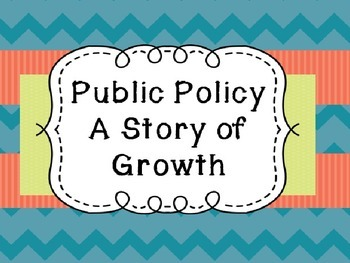 Michigan History: Public Policy Unit- Creating Student Pre