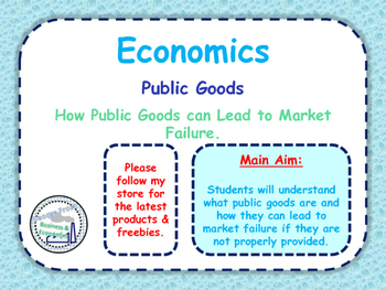 Public & Private Goods - Market Failure - Exam Practice & Key Theory