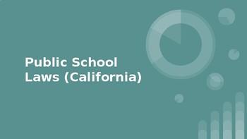 Public Schools Laws Slideshow