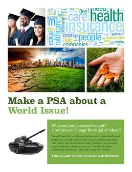 Public Service Announcement (PSA) - World Issues