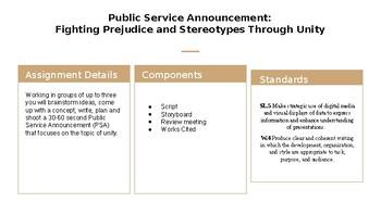 Public Service Announcment Summative
