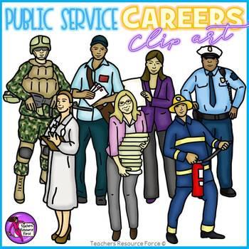 Public Service Careers clip art