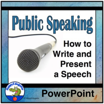 Public Speaking PowerPoint
