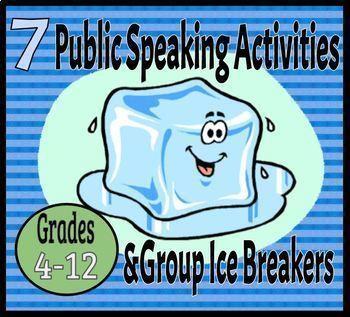 Public Speaking Activities & Ice Breakers
