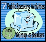 Public Speaking Activities & Ice Breakers