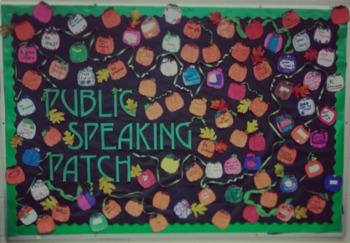 Public Speaking Bulletin Board
