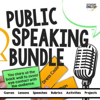 Public Speaking Bundle