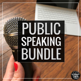 Public Speaking Bundle: ALL My Speech Lessons! {Full Semester, with Google Docs}