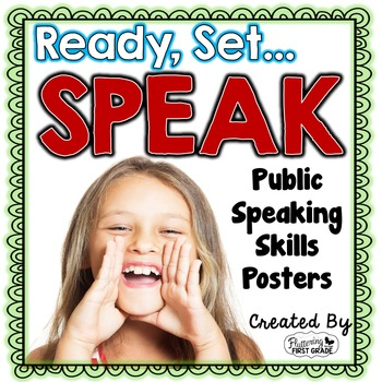 Public Speaking Class Posters