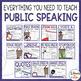 Public Speaking Curriculum Bundle