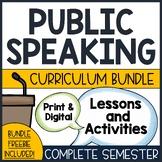 Public Speaking Unit | Public Speaking Lesson Plans