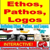 Ethos, Pathos, Logos PowerPoint Lessons and Activities