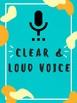 Public Speaking/Etiquette/Essential Reminders Posters