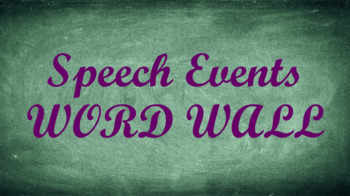 public speaking events word wall chalkboard template by socially