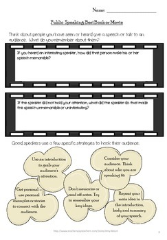 """Public Speaking & Explanatory """"How to"""" Writing 5 Lesson Mini-Unit  3rd- 6th Gr"""