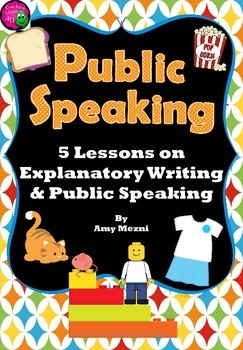 "Public Speaking & Explanatory ""How to"" Writing 5 Lesson Mi"