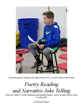 Public Speaking Foundation Projects - Poetry Reading and Narrative Joke Telling