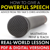 how to give a great public speech