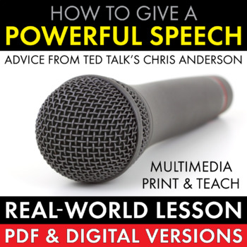 Public Speaking, How to Give a Powerful Speech, Great Presentation Skills, CCSS