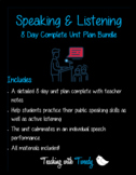 Public Speaking & Listening Mini-Unit
