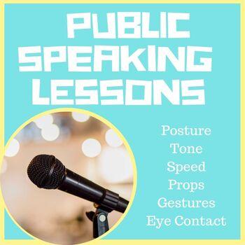 Public Speaking No Prep Full Lesson