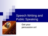 Public Speaking: Outlining a Persuasive Speech